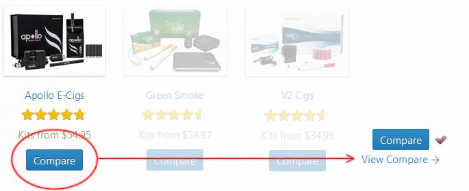 How to Compare E-Cigarettes