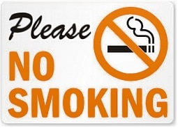 No Smoking Cigarettes
