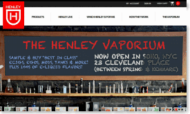 Henley Cigs 10% Off