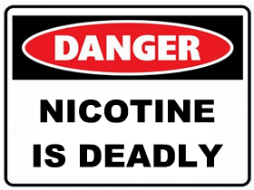 Nicotine is Deadly