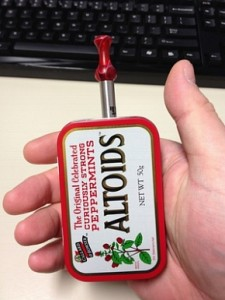 Altoids Stealth Vaping Mod