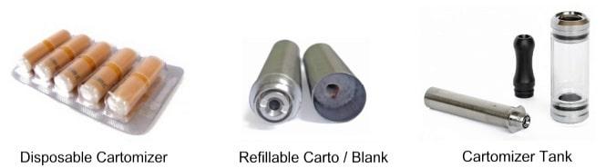 Examples of Cartomizer Types