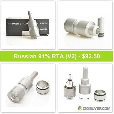 Russian 91% RTA / Atomizer Deal