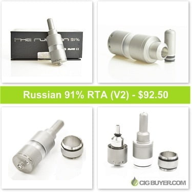 Russian 91% RTA / Atomizer Deal