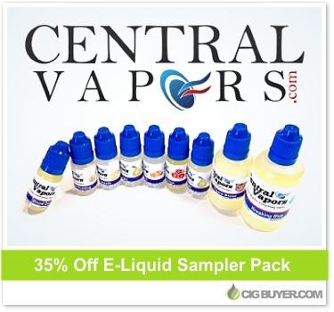 Central Vapors E-Liquid Sampler