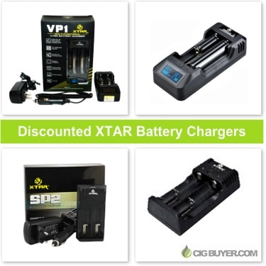 Discounted XTAR Battery Chargers
