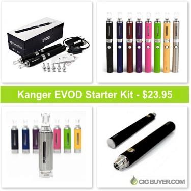 Kanger EVOD Starter Kit Deal