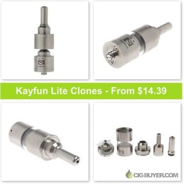 Kayfun Lite RBA Clones