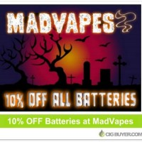 10% OFF All Batteries at MadVapes