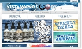 Vista Vapors E-Liquid Coupon