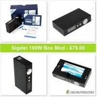 Sigelei 100W Box Mod – Just $79.00