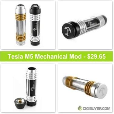 Tesla M5 Mechanical Mod Deal