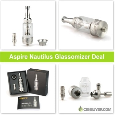 Lowest Price Aspire Nautilus Glassomizer Deal