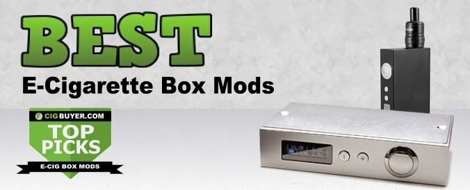 Best E-Cigarette Box Mods