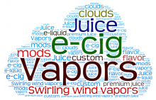 Swirling Wind Vapors