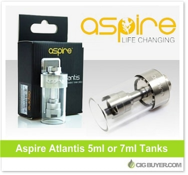 Aspire Atlantis Replacement Tanks (5ml or 7ml)