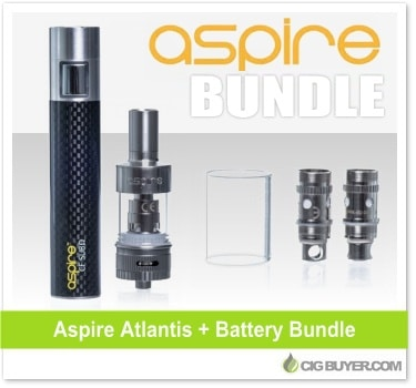 Aspire Atlantis + Sub-Ohm Battery Bundle