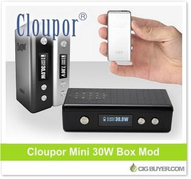 Cloupor Mini Box Mod Deal