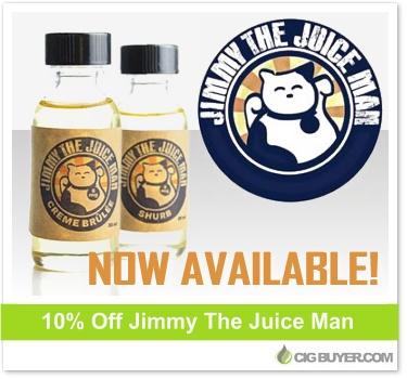 Jimmy The Juice Man E-Liquid Deal