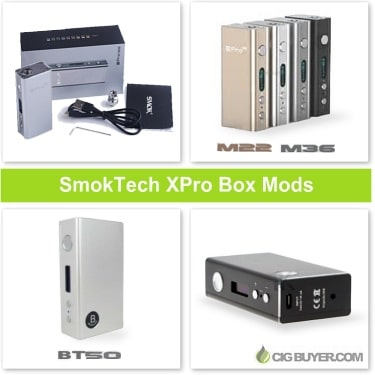 Smoktech XPro Box Mods