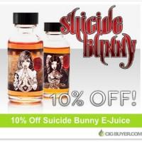 Suicide Bunny E-Juice – 10% OFF!
