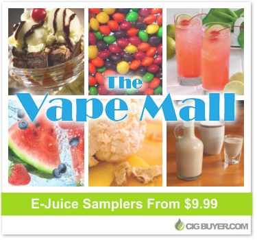 The Vape Mall E-Juice Samplers