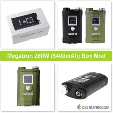 Megatron 260W Box Mod