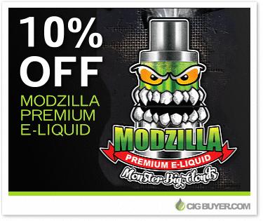 10% OFF Modzilla E-Liquid Deal