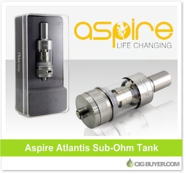 Aspire Atlantis Sub-Ohm Tank Deals