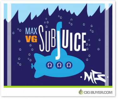 SubJuice Max VG E-Liquid Deal