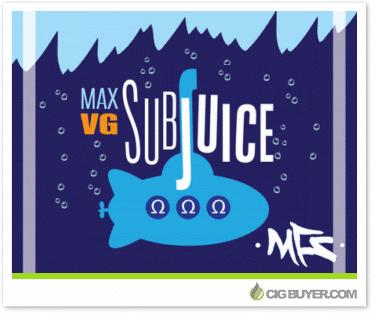SubJuice Max VG E-Liquid Deal