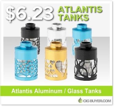 Metal Atlantis Replacement Tanks