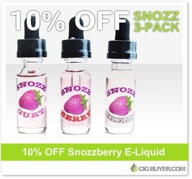 Snozzberry E-Juice Deal