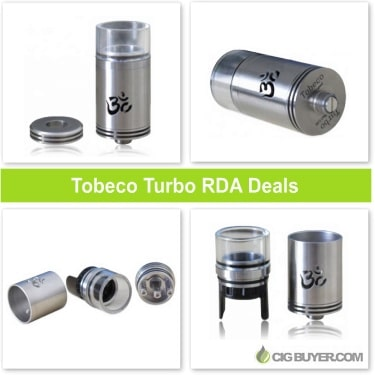 Tobeco Turbo RDA Deals