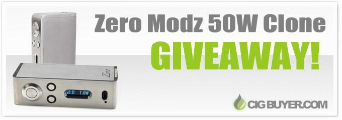 Zero Modz 50W Clone Giveaway