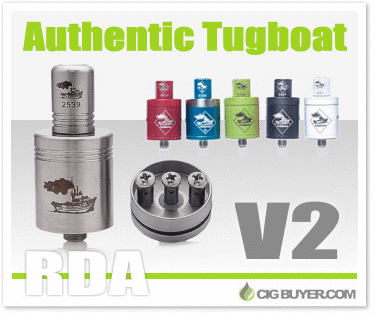 Authentic Tugboat RDA V2 by Flawless