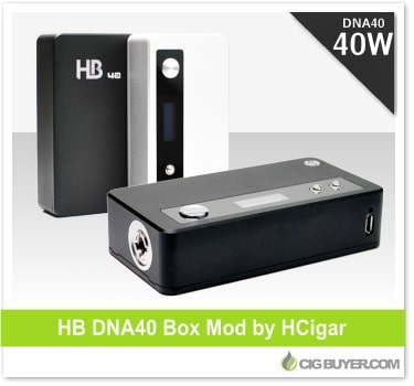 HCigar DB DNA 40 Box Mod