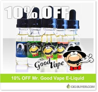 Mr. Good Vapes E-Juice Deal