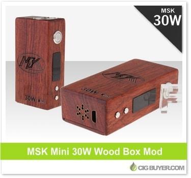 MSK Mini 30W Wood Box Mod
