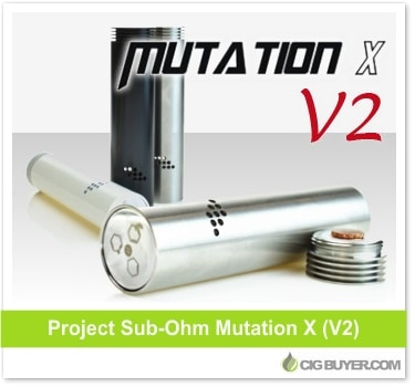 Project Sub Ohm Mutation X V2 Mod