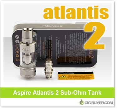 Low Price Aspire Atlantis 2 Tank Deal