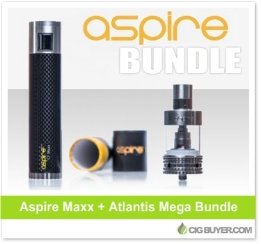 Aspire CF Maxx Battery + Atlantis Mega Bundle