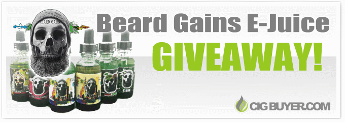 Beard Gains E-Juice Giveaway