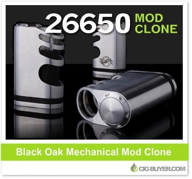 Black Oak Mechanical Mod Clone
