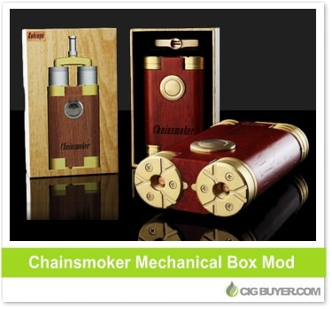 Chainsmoker Mechanical Box Mod