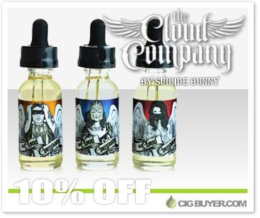 The Cloud Company E-Juice by Suicide Bunny