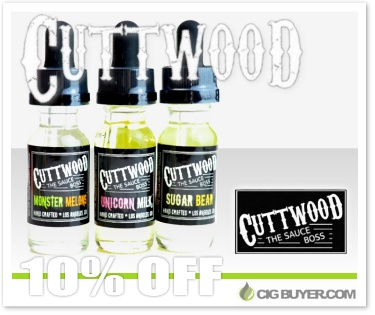 Cuttwood E-Juice Deal