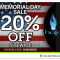 Halo 20% OFF Memorial Day Sale