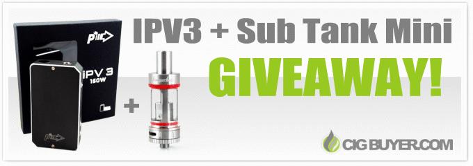 IPV3 Mod + Kanger Subtank Mini Giveaway