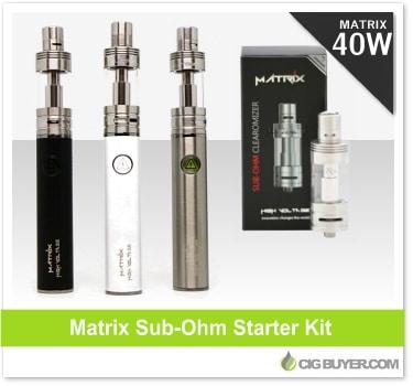 Matrix Sub-Ohm Battery Starter Kit